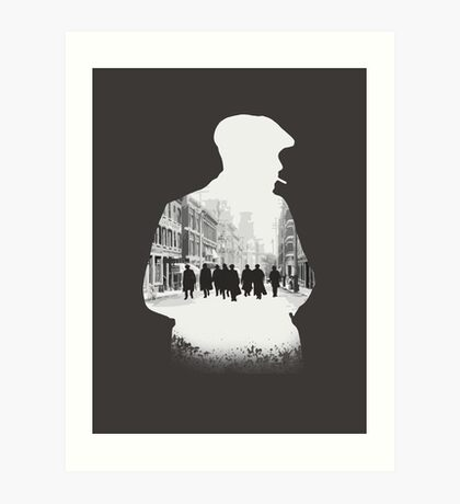 Peaky blinders - light Art Print