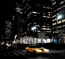 NYC by night by JackParis
