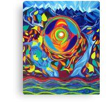 Echo Of Eco Canvas Print