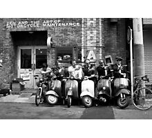 Zen & The Art Of Motorcycle Maintenance Photographic Print