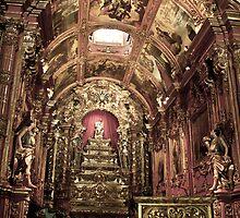 HDR of the Igreja de São Francisco / São Francisco church by Paulo Rodrigues