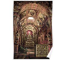 HDR of the Igreja de São Francisco / São Francisco church Poster
