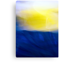 A Fleeting Spring Moment An abstract impression Canvas Print