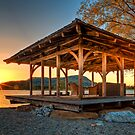 Lake Gazebo by Delfino