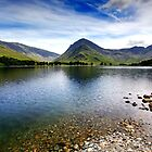 Buttermere in Bloom by Garry Copeland