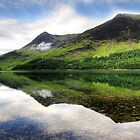 Buttermere Reflected by Garry Copeland