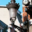 Ornate Lamp - Brussels by evilcat
