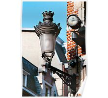 Ornate Lamp - Brussels Poster