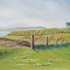 Cliff Walk at Portrane by Geraldine M Leahy