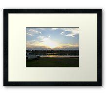 Carrington Creek Framed Print