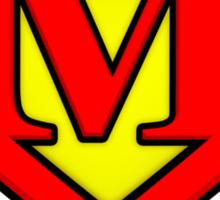 Classic M Diamond Graphic Sticker