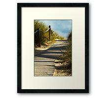 Lead Da Way Framed Print