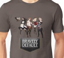 Bravely Default characters Unisex T-Shirt