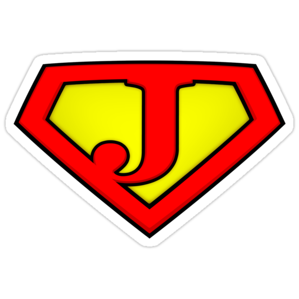 SUPER J Logo Shield by Adam Campen