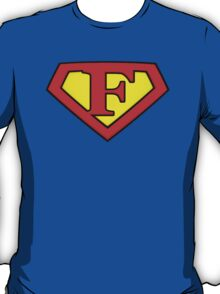 Classic F Diamond Graphic T-Shirt