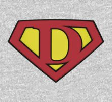Classic D Diamond Graphic Kids Clothes