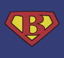 SUPER B Logo Shield by Adam Campen