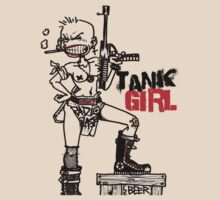 TANK GIRL by Le Wild.