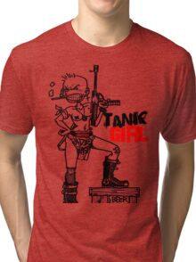 TANK GIRL Tri-blend T-Shirt