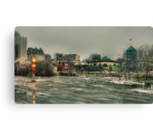 Winnipeg Flood 2011 Canvas Print