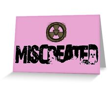 Miscreated  Design 1 Pink (Official) Greeting Card