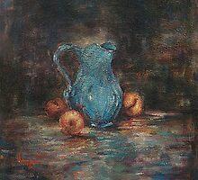 Three Peaches by Monica Vanzant