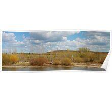 Bennington Lake Spring in Walla Walla Poster
