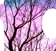 Puzzle Pink Tree Sticker