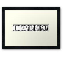 Thanee's film strip Framed Print