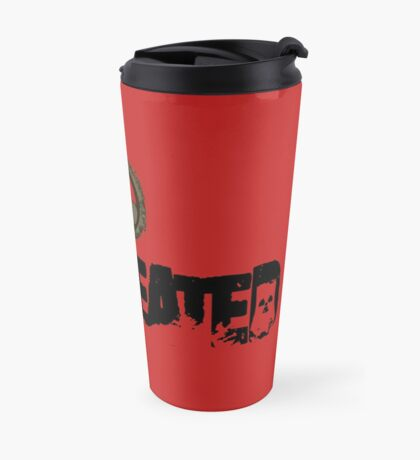 Miscreated Design 1  Red (Official) Travel Mug