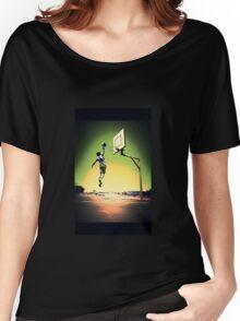 DUNKART SUNSET Women's Relaxed Fit T-Shirt