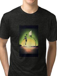 DUNKART SUNSET Tri-blend T-Shirt
