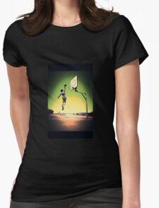 DUNKART SUNSET Womens Fitted T-Shirt