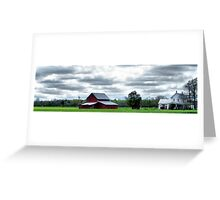 Rural Perquimans County Greeting Card