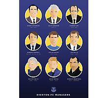 Everton FC Managers Photographic Print