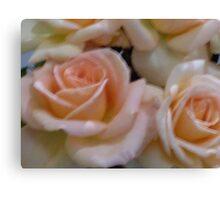 Grandma's Roses Canvas Print