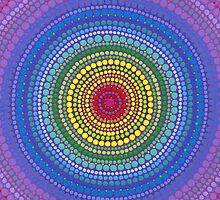 Rainbow Orb of chakra balance by Elspeth McLean