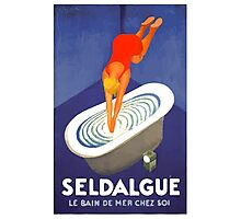 Leonetto Cappiello Affiche Seldague Photographic Print