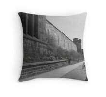 Desolate and Abandoned Throw Pillow