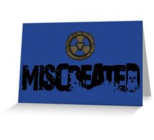 Miscreated Design 1 Blue  (Official) Greeting Card