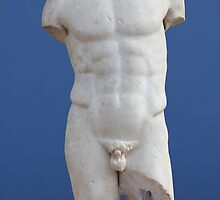 Ancient Male Torso by Digital Editor .