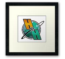 Horseshoes & Hand Grenades - Logo Framed Print
