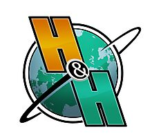 Horseshoes & Hand Grenades - Logo Photographic Print