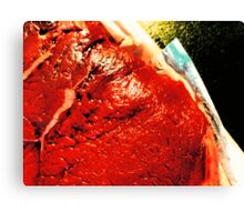 04-10-11:  Naked Lunch Canvas Print