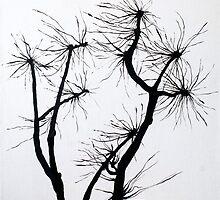 Naked Trees by Aleksandra Kabakova