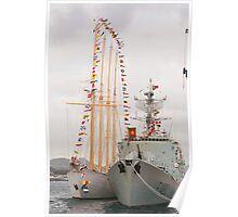 Portuguese Navy ships Poster