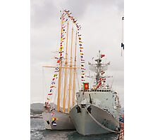 Portuguese Navy ships Photographic Print