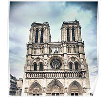 Notre Dame in Paris, France Poster