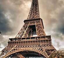 Eiffel Tower in Paris, France by Giovanni Gagliardi