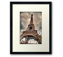 Eiffel Tower in Paris, France Framed Print